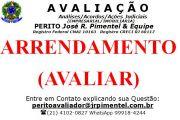 CONSULTORIA DE SERVI�OS +ARRENDAMENTO (AVALIAR E PERICIAR) +RIO DE JANEIRO - RJ