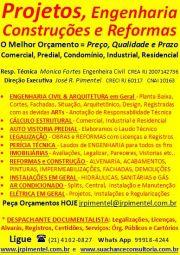 CONSULTORIA DE SERVIÇOS +LAUDOS DE ENGENHARIA EM GERAL+RIO DE JANEIRO - RJ