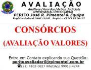 CONSULTORIA DE SERVIÇOS +CONSÓRCIOS DE IMÓVEIS (AVALIAÇÕES) +RIO DE JANEIRO - RJ