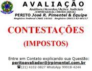 CONSULTORIA DE SERVIÇOS +CONTESTAÇÕES DE IMPOSTOS +RIO DE JANEIRO - RJ