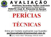 CONSULTORIA DE SERVIÇOS +PERÍCIAS TÉCNICAS IMOBILIÁRIAS+RIO DE JANEIRO - RJ